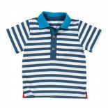 Kite Polo Shirt Baby Boy stripy french navy